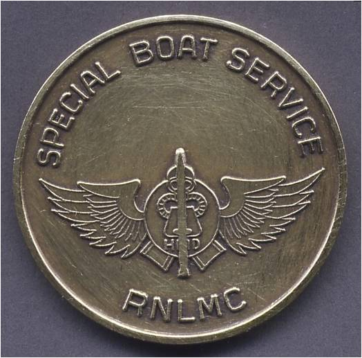 Dutch Marines Special Boat Serice medalion